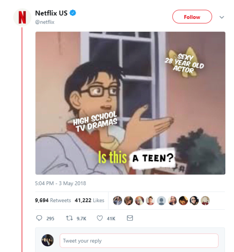 netflix is this a teen twitter brands