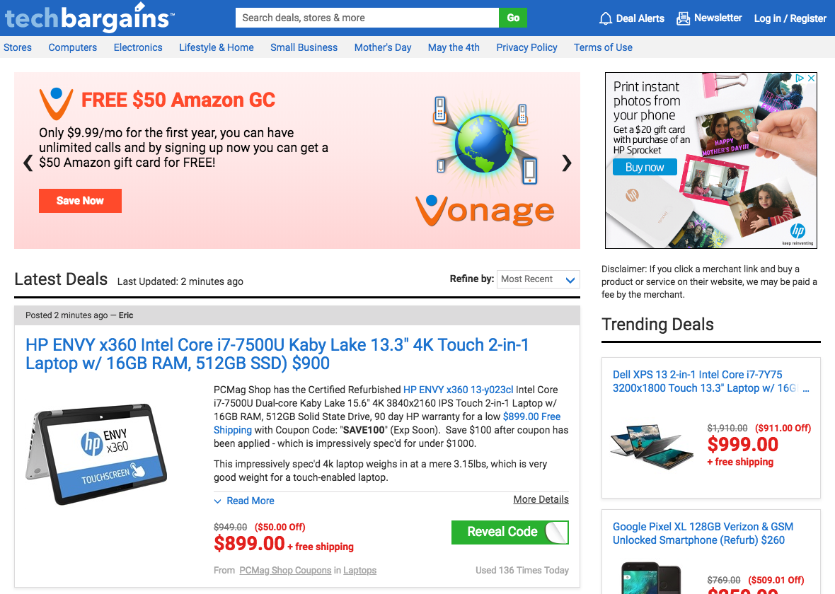 types of coupon affiliate programs