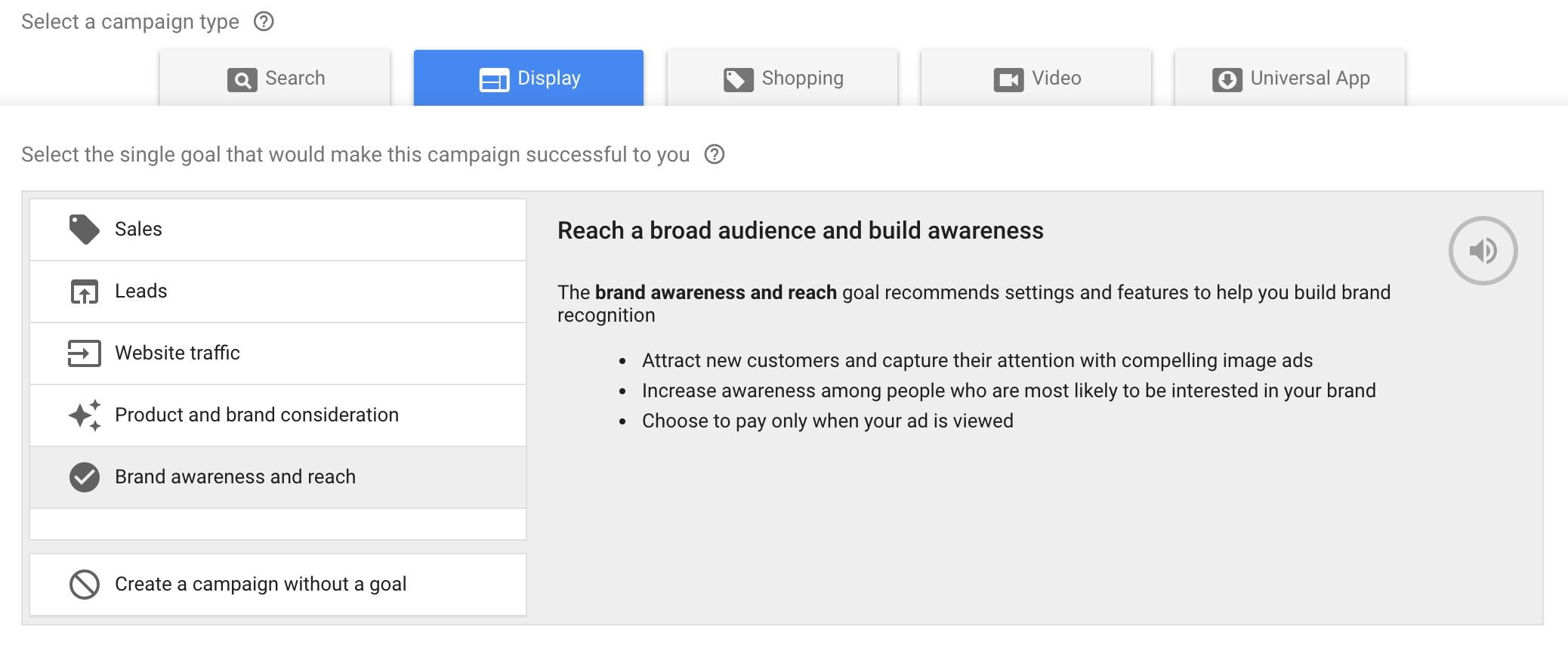 google ads brand awareness