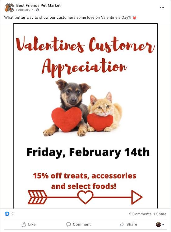 valentine's day marketing ideas customer appreciation