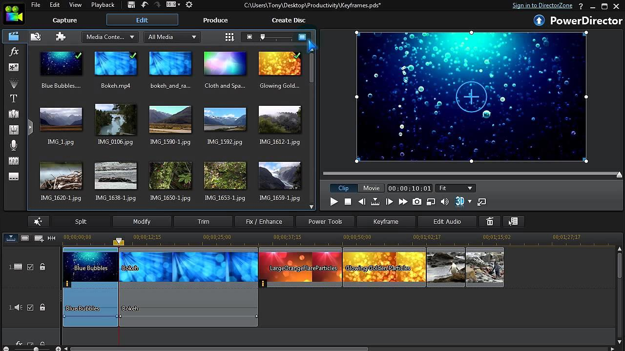 Best Video Editing Software For Beginners CyberLink 2