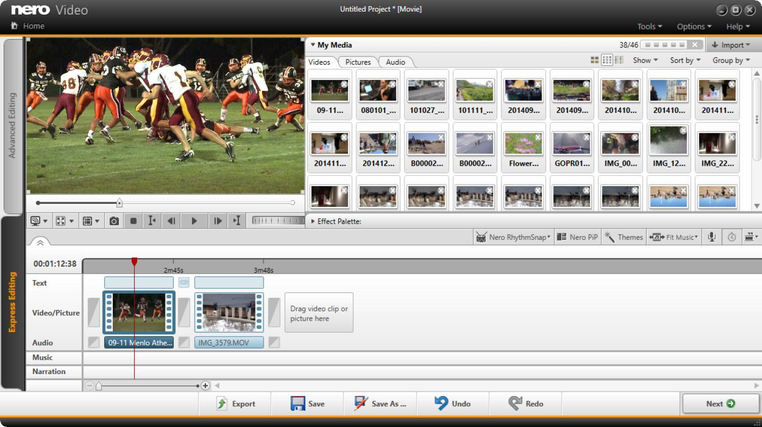 List of video editor for windows 7