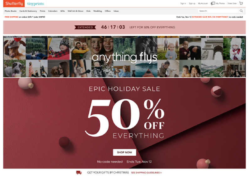 ways to boost holiday sales and revenue 2020 holiday themed landing pages