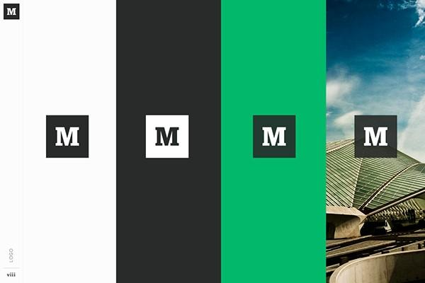 Medium's website color scheme