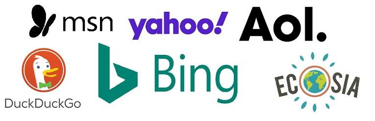 Bing search partners