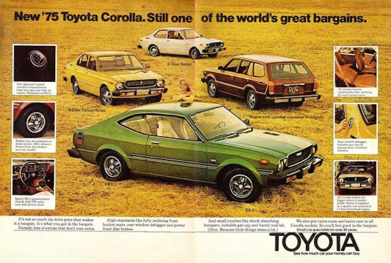 why not to cut marketing budget during recession-toyota example