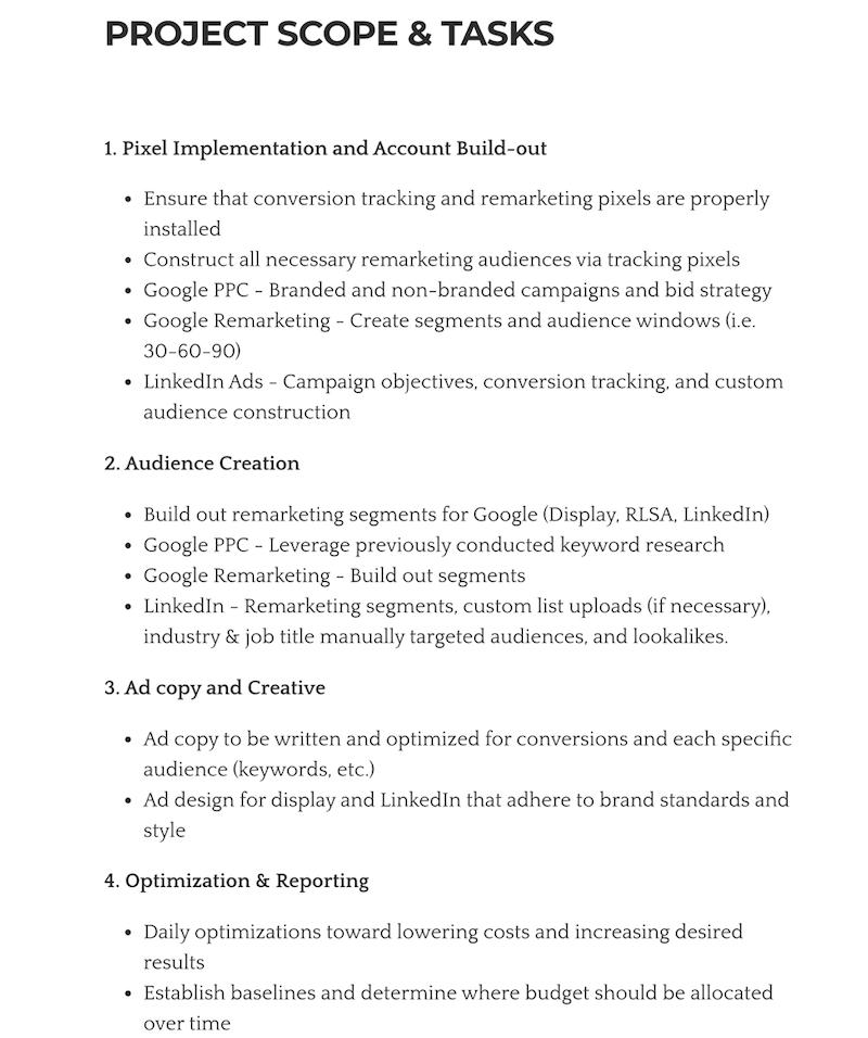 为您的潜在客户创建成功的商业计划书的8个步骤