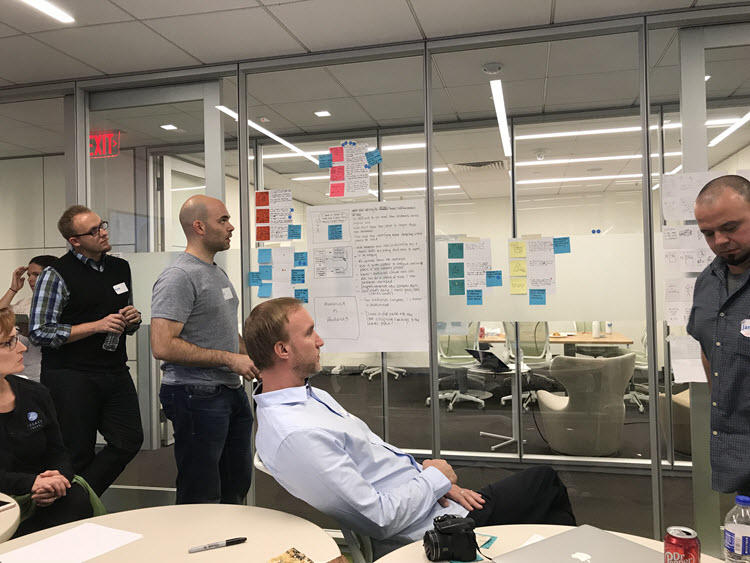 Customer Insight Round Table Brainstorming