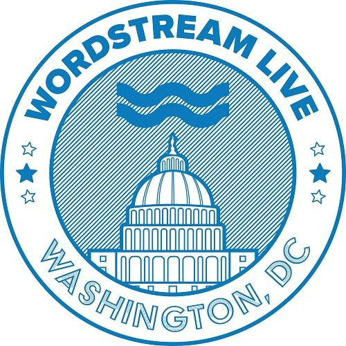 the logo for WordStream Live in Washington, D.C.