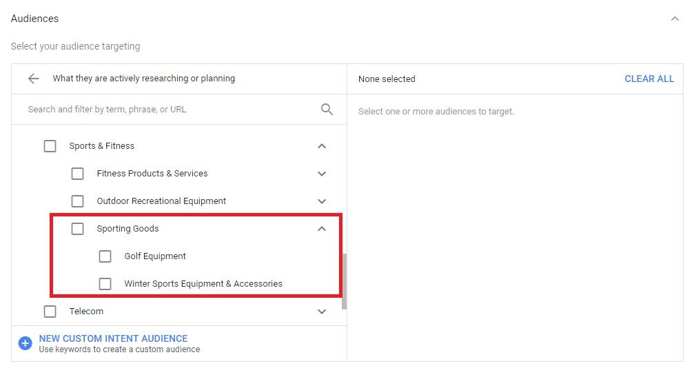 Improve Your YouTube Targeting with Custom Intent Audiences