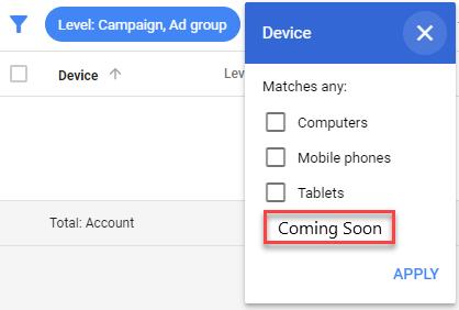 youtube device targeting tv screens