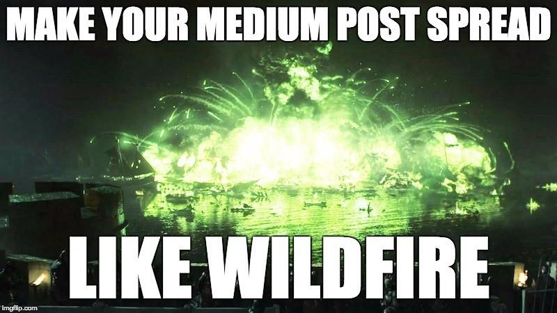 Medium optimization tips wildfire Game of Thrones Blackwater Bay