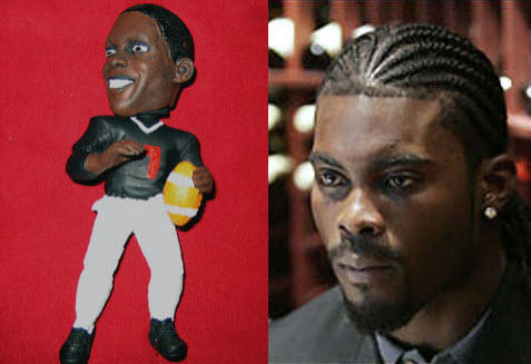 Backlinks for the Michael Vick dog chew toy