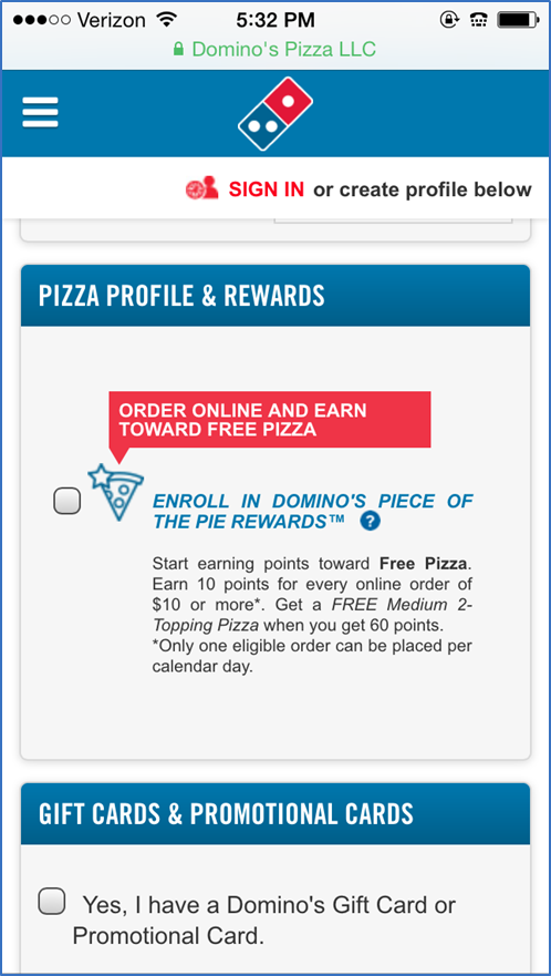 dominos example step 3