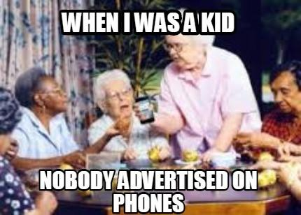 mobile ppc charts when i was a kid meme