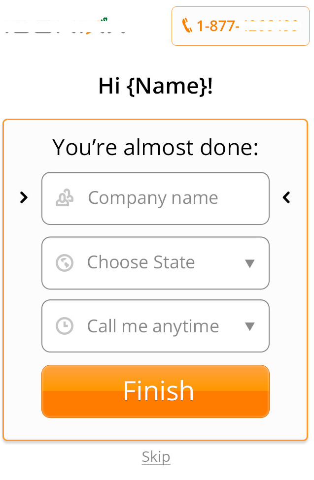 mobile testing for forms
