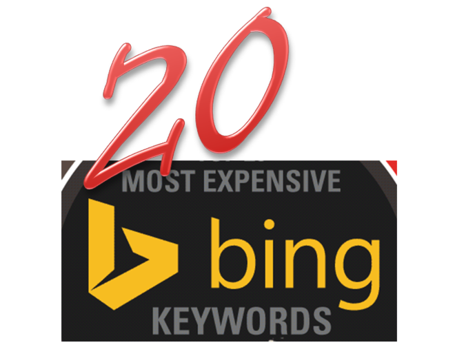 top keywords in bing ads