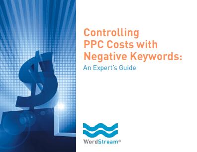 Negative Keywords E-Book