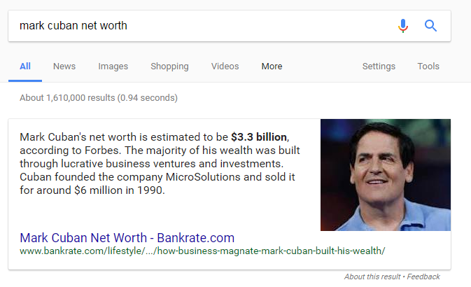 featured snippet controversy