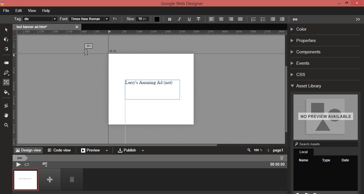 New AdWords tools Google Web Designer download