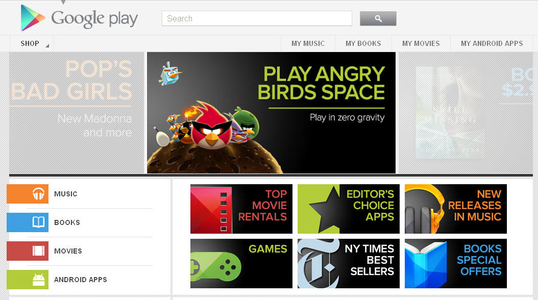 Google Play Android Market