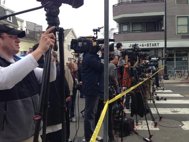 News Networks Covering The Marathon Bombing Story