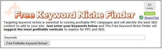 Keyword Niche Finder