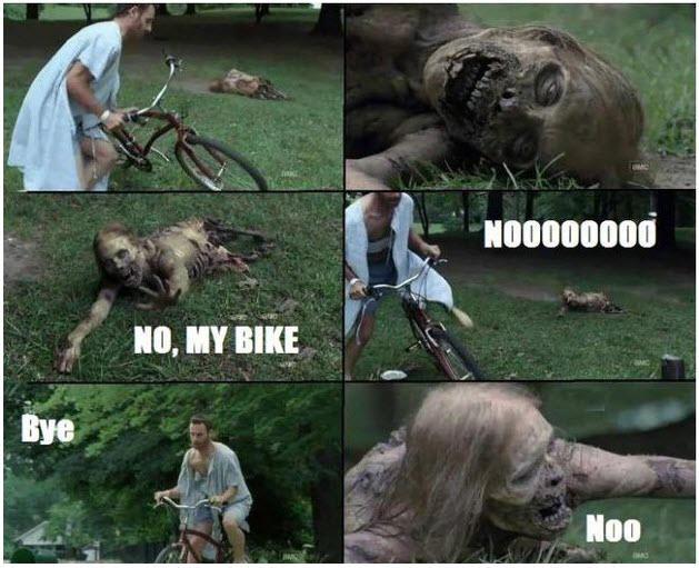 WordStream best of the month October Walking Dead meme