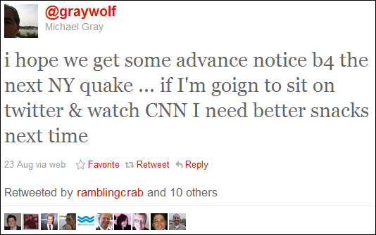 NY Quake