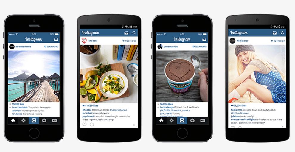 Online advertising costs Instagram ads