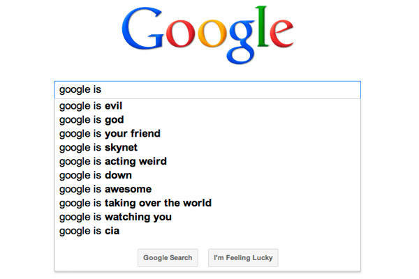 Online marketing tools Google Suggest