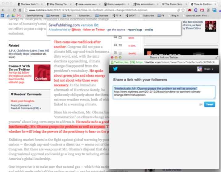 Online marketing tools Save Publishing