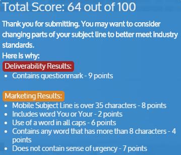 Online marketing tools SubjectLine