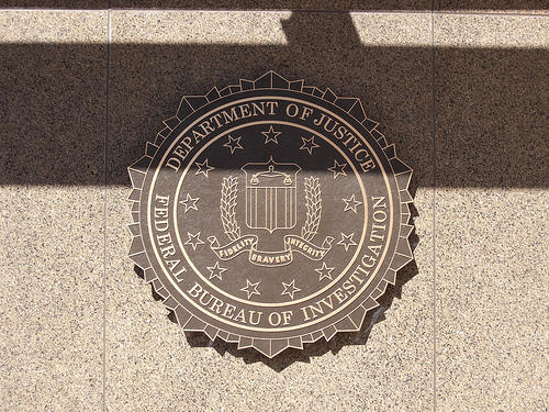 Online privacy FBI seal