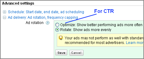 Optimize for CTR