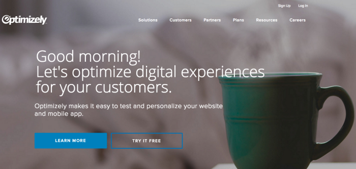 otimização de home page