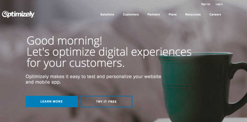 personalized landing pages