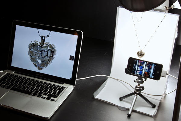 Optimizing images for commercial intent iPhone product photography