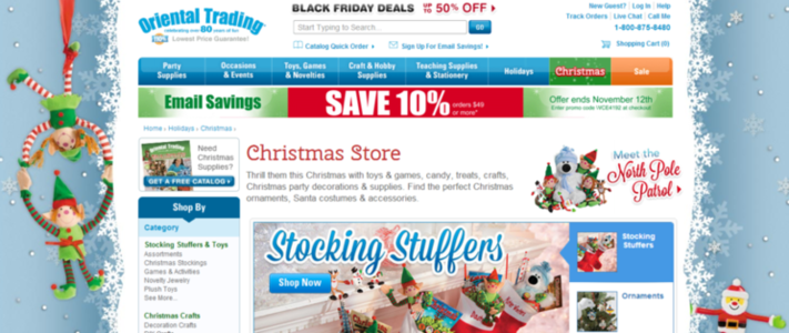 Holiday PPC Landing Page Tips