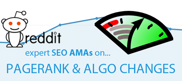 page rank and algorithm changes