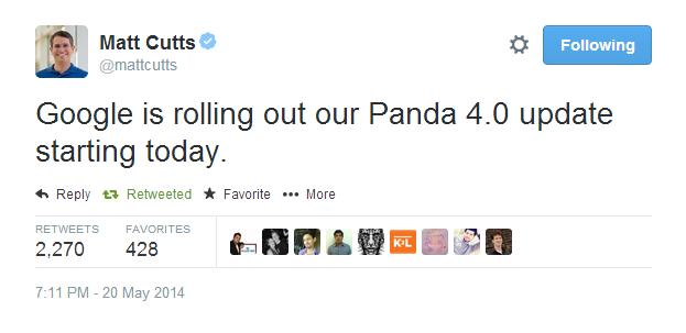 Panda 4.0 news
