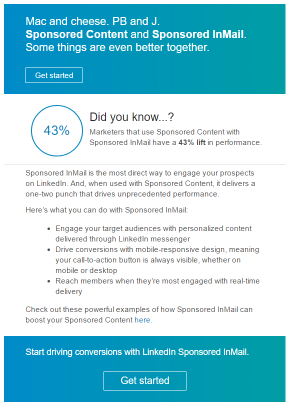 email marketing with landing pages