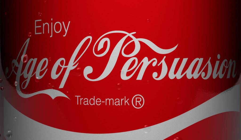 Persuasive landing pages Art of Persuasion Coke logo
