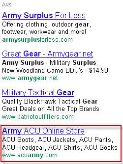 PPC Ad Writing