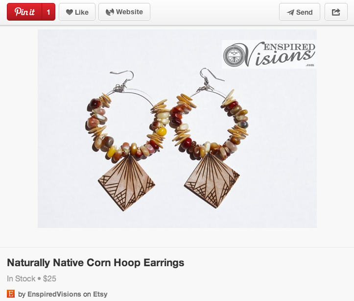 Pinterest Ad Example
