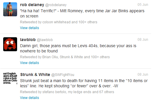 popular tweets