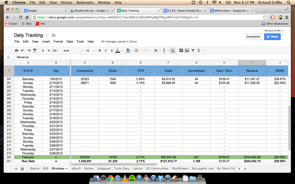 Managing Multiple PPC Accounts