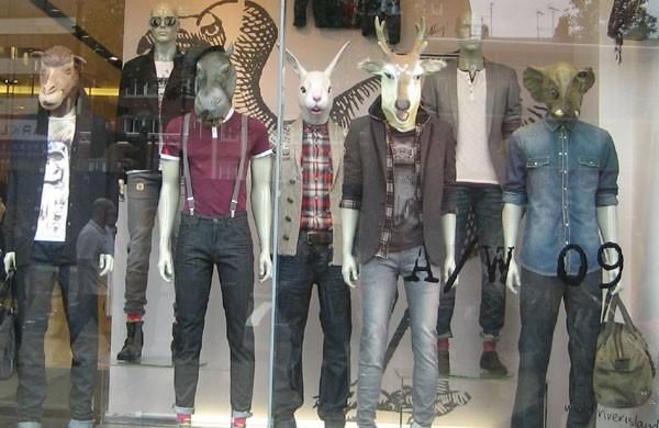 PPC ad headlines creepy store window mannequins