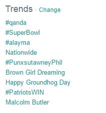 PPC ad headlines Twitter trends