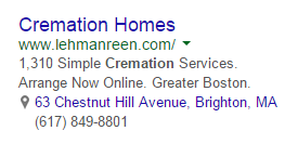 PPC ad headlines unclear ad example